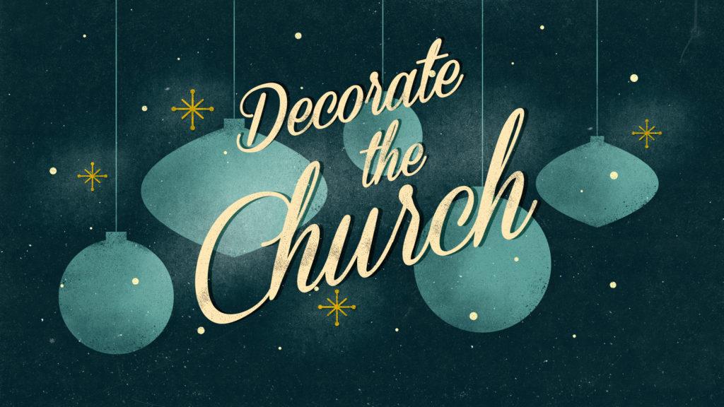 Decorate The Church
